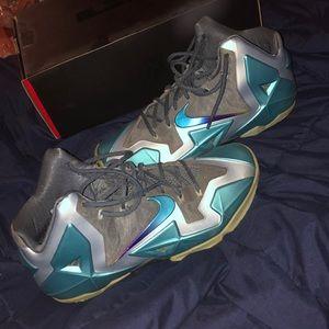 """34f573e1976 Nike Shoes - Lebron 11 """"Gamma Blue"""""""